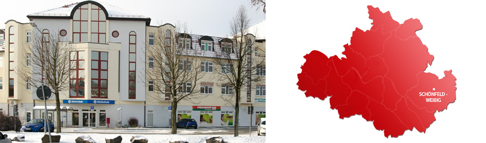 Therapiezentrum Dresden Weißig Lage
