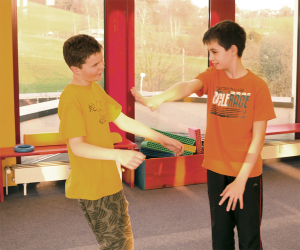 Kinderselbstverteidigung Physiomed Therapiezentrum Rehasportverein Schönfelder Hochland e.V.