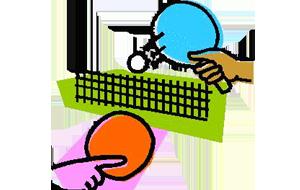 Tischtennis für Kinder Physiomed Therapiezentrum Rehasportverein Schönfelder Hochland e.V.
