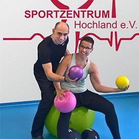 SPORTZENTRUM Hochland e.V. Rehasport Ball